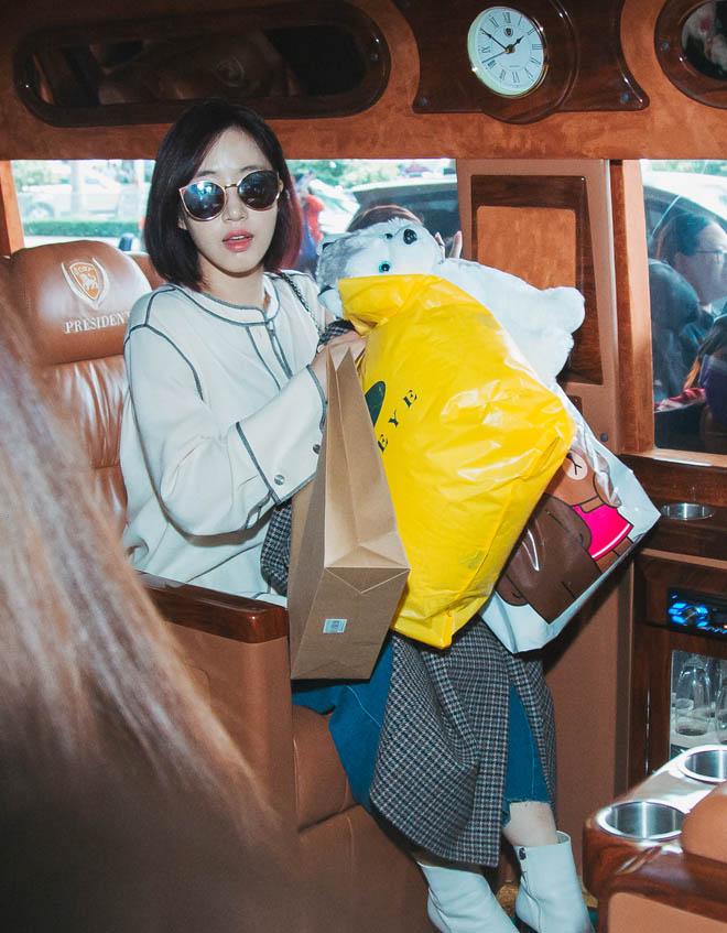 Fan Việt hoá trang, giăng băng rôn cầu hôn T-ara tại sân bay - 8