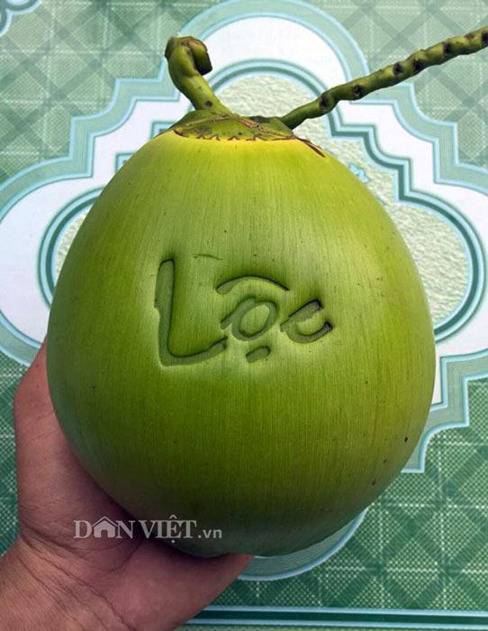"""5.000 trái dừa """"độc"""", lạ có """"1-0-2"""" sẽ được bán trong dịp Tết 2018 - 4"""