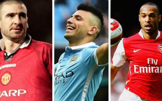 """Man City đấu Arsenal: Aguero hay hơn Henry, Cantona, """"Pháo thủ"""" khiếp vía - 2"""