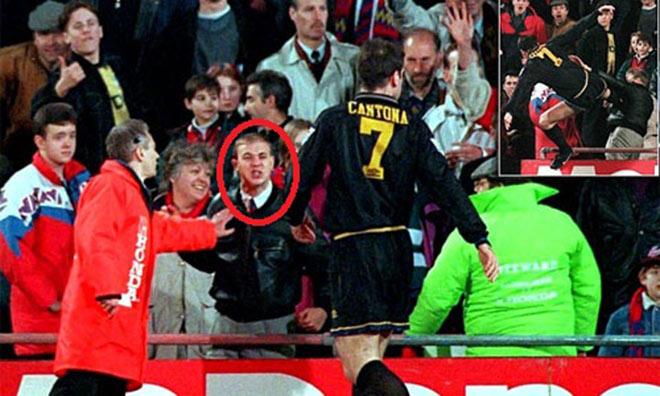 SAO MU tung cước đạp CĐV: Patrice Evra tái hiện Cantona - 2