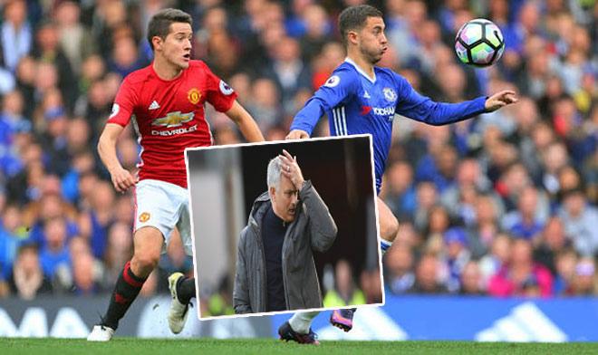 """Thư hùng Chelsea - MU: Diệu kế nào để Mourinho """"khóa"""" Hazard? - 1"""
