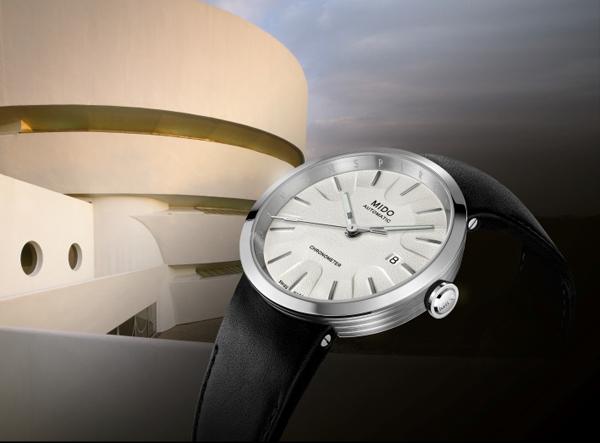 Thương hiệu Mido trình làng tạo tác đồng hồ Guggenheim tại New York, Mỹ - 1
