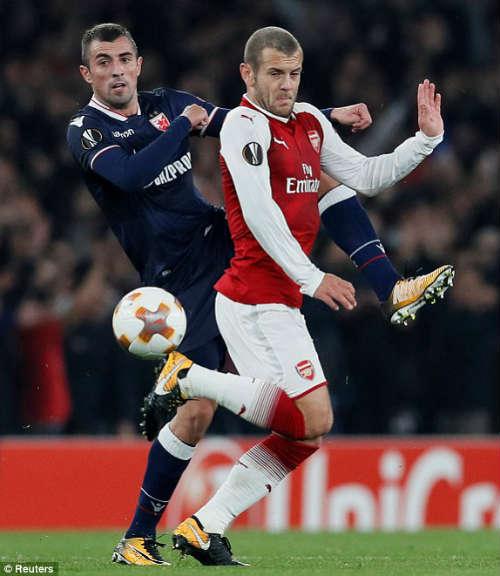 Chi tiết Arsenal - Crvena Zvezda: Nhiệm vụ bất khả thi (KT) - 4
