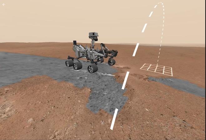 """Công nghệ thực tế ảo đã có thể giúp mọi người """"đi bộ trên sao Hỏa"""" dễ dàng - 1"""