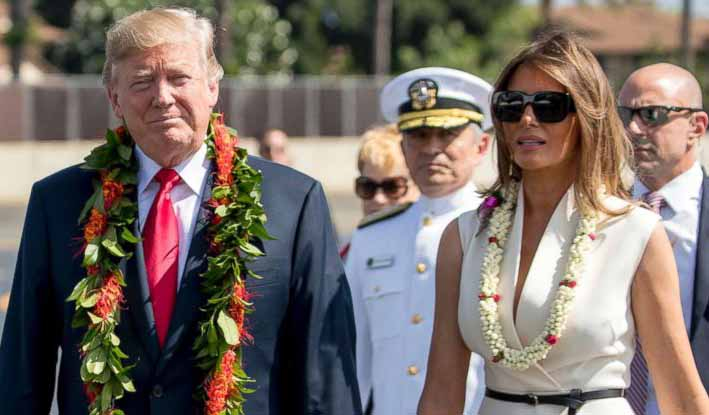 Trump đem theo valy hạt nhân, bắt đầu công du châu Á - 2