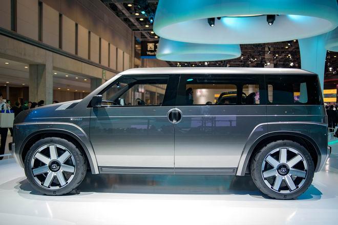 Toyota Tj Cruiser: Khi SUV kết hợp xe van chở hàng - 3