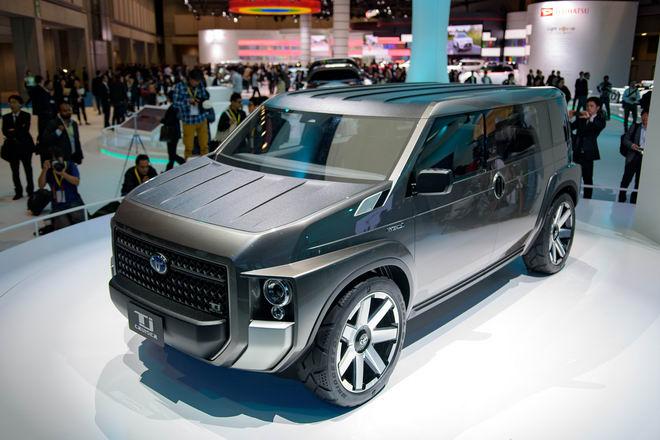 Toyota Tj Cruiser: Khi SUV kết hợp xe van chở hàng - 4