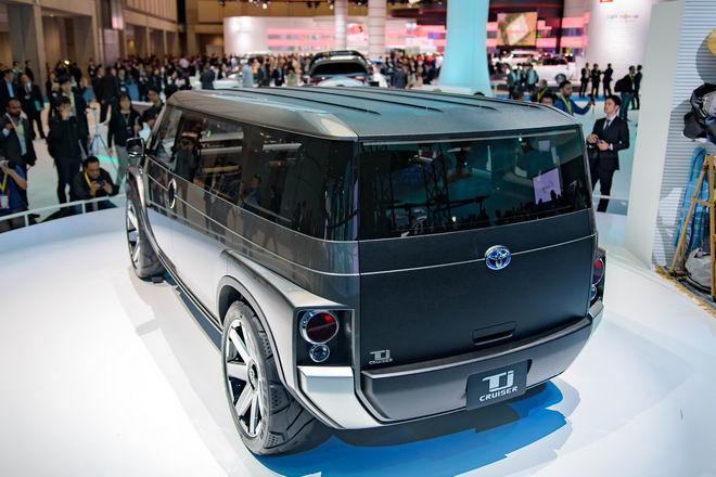Toyota Tj Cruiser: Khi SUV kết hợp xe van chở hàng - 5