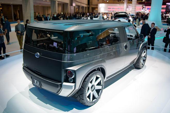 Toyota Tj Cruiser: Khi SUV kết hợp xe van chở hàng - 6