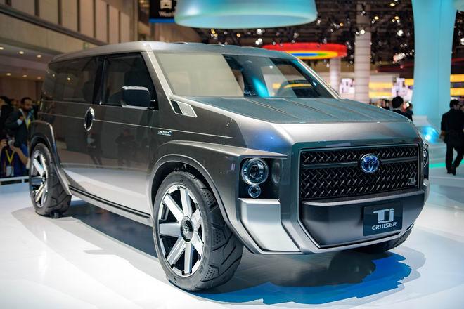 Toyota Tj Cruiser: Khi SUV kết hợp xe van chở hàng - 7