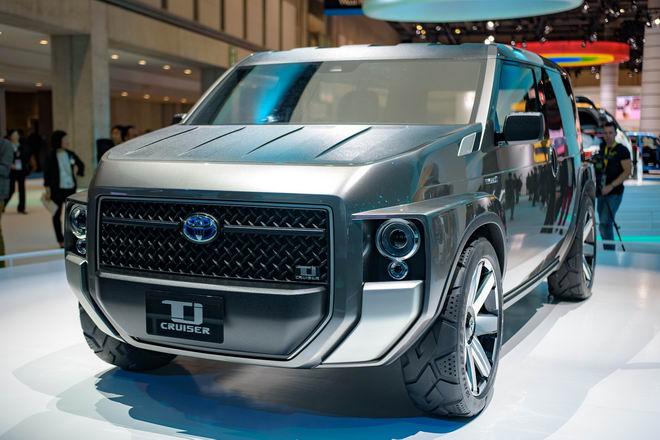 Toyota Tj Cruiser: Khi SUV kết hợp xe van chở hàng - 8