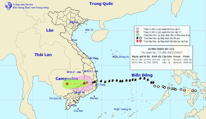 Tàn phá Nam Trung Bộ, bão tiếp tục gây thiệt hại ở Tây Nguyên - 2