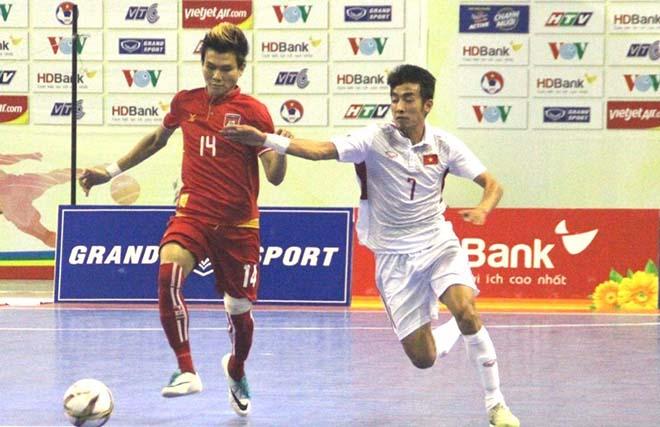 Sốc, Futsal Việt Nam thua cả Myanmar - 3