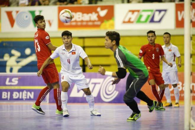 Sốc, Futsal Việt Nam thua cả Myanmar - 2