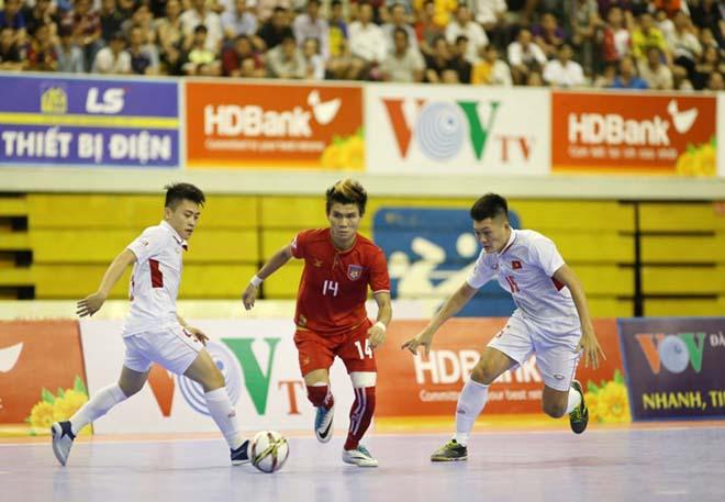 Sốc, Futsal Việt Nam thua cả Myanmar - 1