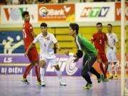 Sốc, Futsal Việt Nam thua cả Myanmar