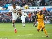 Swansea - Brighton: Hạ gục lạnh lùng, bay bổng khó tin (vòng 11 ngoại hạng Anh)
