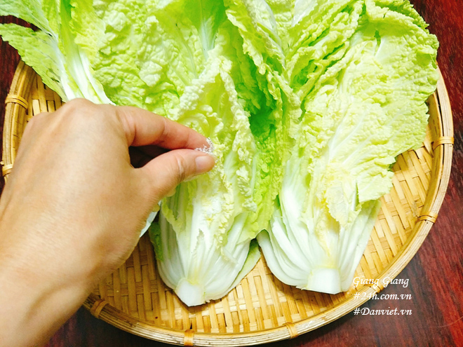 Cách làm kim chi cải thảo thơm thơm, chua dịu, cay tê lưỡi - 3