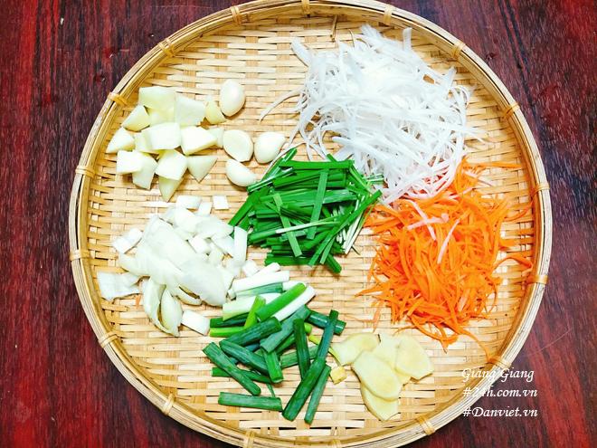 Cách làm kim chi cải thảo thơm thơm, chua dịu, cay tê lưỡi - 6