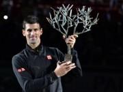 """Paris Masters:  """" Ông vua """"  Djokovic và 5 kẻ  """" thừa nước đục thả câu """""""