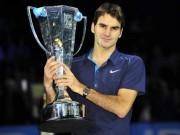 Tennis 24/7: Federer chờ kỉ lục ATP Finals, không bắt 4 con kế nghiệp