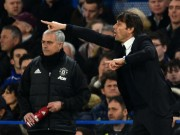 """Conte kênh kiệu với Mourinho: Hả hê vẫn coi chừng """"bay ghế"""""""