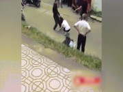 Xôn xao clip nam thanh niên đánh người yêu, túm tóc kéo lê trên đường