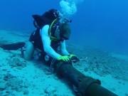 Vừa hàn nối xong, cáp quang biển AAG lại gặp sự cố