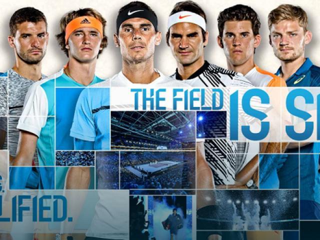 """Kết quả phân nhánh tennis """"bát hùng"""" ATP Finals 2017"""