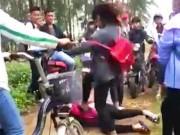 Giáo dục - du học - Kỷ luật nhóm nữ sinh dùng dép đánh bạn dã man ở Nghệ An