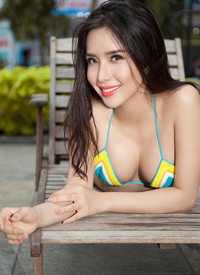 Á hậu Việt có vòng ba 1 mét: Bikini là phần tôi tự tin nhất - 2