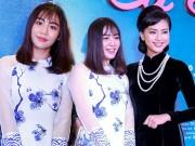 Vừa chia tay bạn trai, Văn Mai Hương vẫn rạng rỡ dự sự kiện