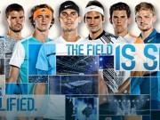 """Lịch thi đấu tennis  """" bát hùng """"  ATP Finals 2017"""