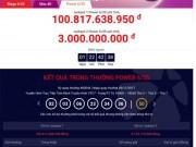 Tin tức trong ngày - Xổ số Vietlott: Jackpot 2 lại có chủ, jackpot 1 lần đầu vượt mốc 100 tỉ