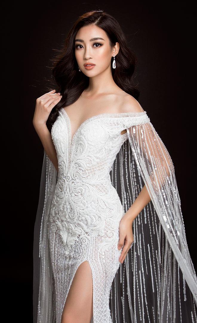 Hoa hậu Mỹ Linh lần đầu mặc xẻ cao đến thế ở Hoa hậu Thế giới - 6
