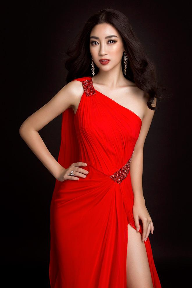Hoa hậu Mỹ Linh lần đầu mặc xẻ cao đến thế ở Hoa hậu Thế giới - 2