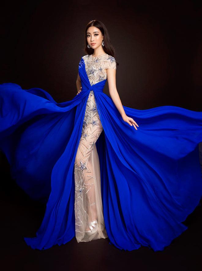 Hoa hậu Mỹ Linh lần đầu mặc xẻ cao đến thế ở Hoa hậu Thế giới - 7