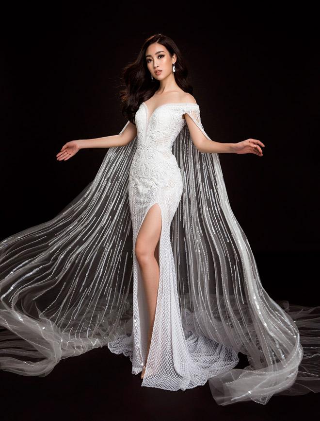 Hoa hậu Mỹ Linh lần đầu mặc xẻ cao đến thế ở Hoa hậu Thế giới - 3