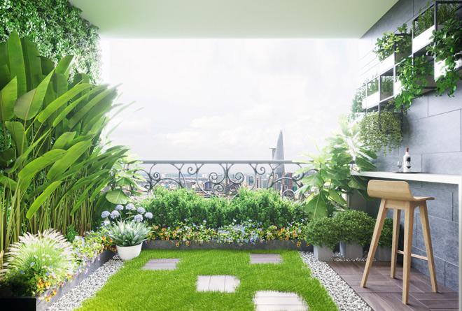 Người Sài Gòn ưa chuộng căn hộ sân vườn - 3