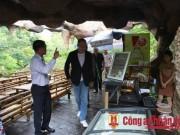 Bộ trưởng Ngoại giao và Kinh tế Nga  vi hành  ở núi Thần Tài