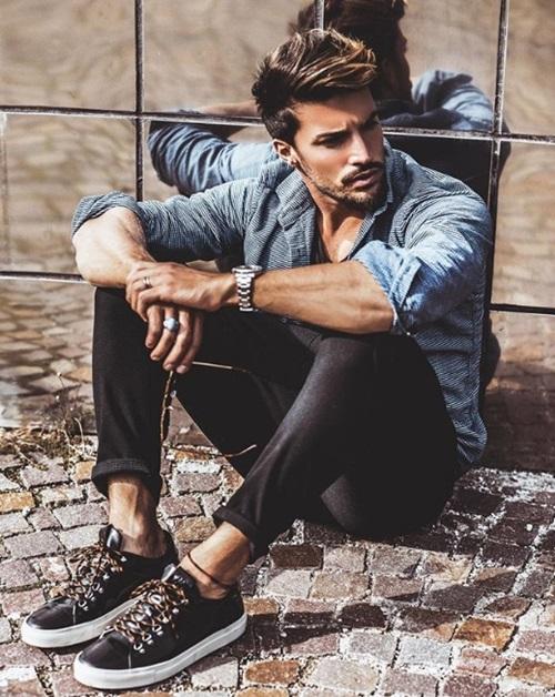 Ngất với gu thời trang vừa phủi bụi vừa lịch lãm của trai đẹp gốc Ý - 4