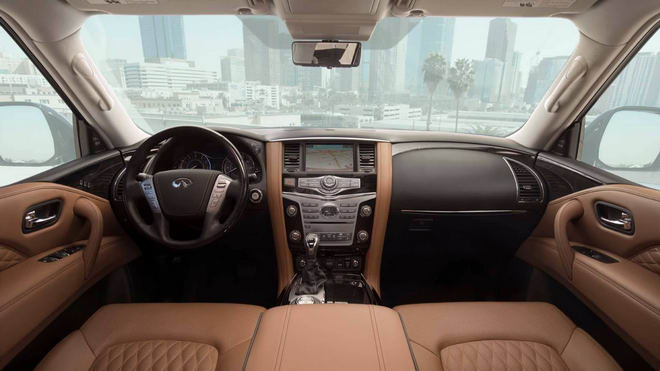 SUV hạng sang Infiniti QX80 2018 xuất hiện, đẹp mắt hơn - 2