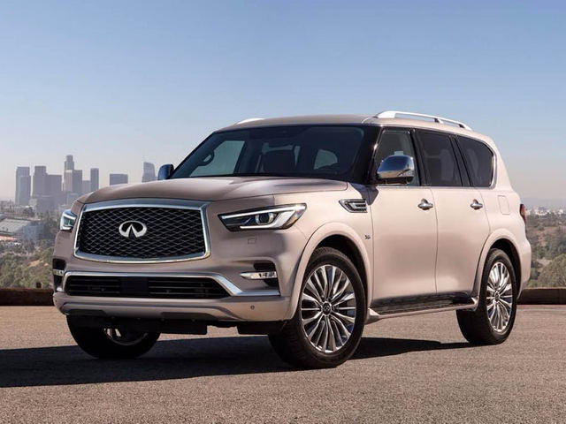SUV hạng sang Infiniti QX80 2018 xuất hiện, đẹp mắt hơn - 1