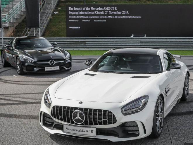 Mercedes-AMG GT R 2017 đến Đông Nam Á, giá 9,13 tỷ đồng - 1