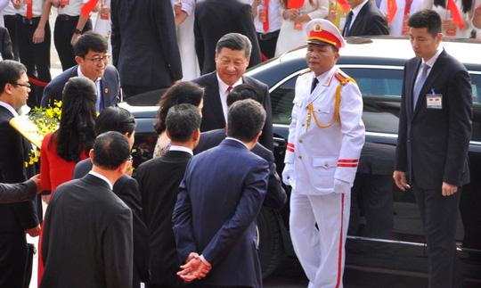 Chủ tịch Tập Cận Bình dự lễ khánh thành Cung hữu nghị Việt - Trung - 1