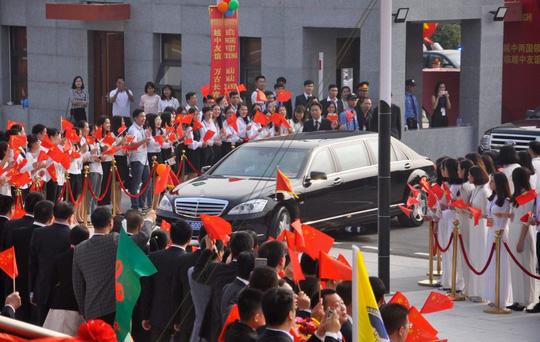Chủ tịch Tập Cận Bình dự lễ khánh thành Cung hữu nghị Việt - Trung - 2