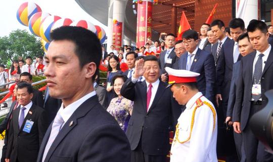 Chủ tịch Tập Cận Bình dự lễ khánh thành Cung hữu nghị Việt - Trung - 5