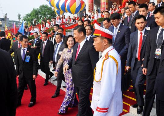 Chủ tịch Tập Cận Bình dự lễ khánh thành Cung hữu nghị Việt - Trung - 6