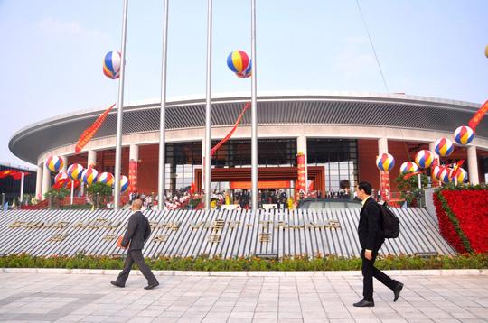 Chủ tịch Tập Cận Bình dự lễ khánh thành Cung hữu nghị Việt - Trung - 7