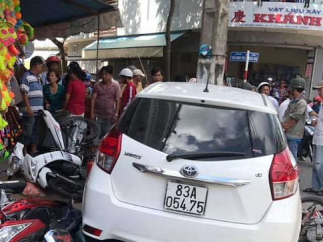 Tình tiết mới vụ ô tô vi phạm bị giữ vẫn chạy ra ngoài gây tai nạn - 2